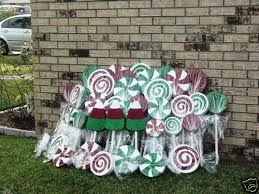 Ebay Christmas Lights Outdoor by Outdoor Christmas Candyland Yard Decorations 60 Pieces Ebay