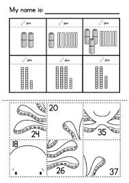 value puzzle pastes cut u0026 paste worksheets numbers to 50