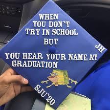cheap graduation caps meme grad cap ideas popsugar tech