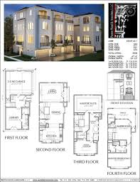 cougar floor plans townhouse plan e2049 a2 1 pinterest cougar town house floor plans