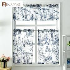 Modern Cafe Curtains Modern Cafe Curtains Kitchen Curtains Window Treatment Set