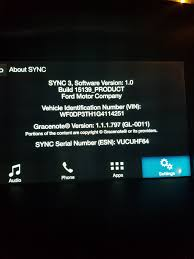 Ford Sync Map Update Unofficial Update Sync3 V2 2 With Android Auto And Apple Car Play