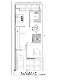 home design 20 x 50 20 50 duplex house floor plan ghar banavo