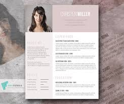 Free Stylish Resume Templates Free Resume Template For The Ladies The Vintage Rose