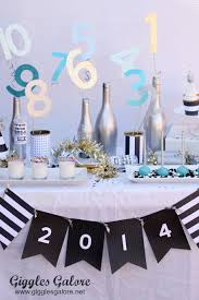 New Year Dinner Decorations by Kid Friendly New Year U0027s Eve Party Ideas
