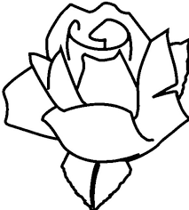 valentine rose coloring pages flower coloring pages