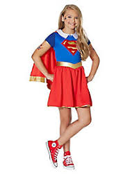 Superhero Halloween Costumes Girls Girls Superheroes Costumes Supergirl Costumes Spirithalloween
