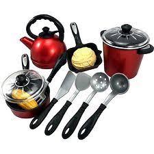 kinder spielküche 13pcs play kitchen accessories water boiler pot pan dolls ebay