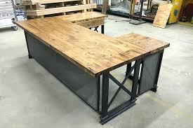T Shape Desk Office U Shaped Desk Netztor Me