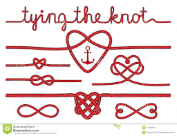 knot wedding rope hearts and knots vector set stock vector image 41249944