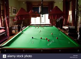 games room with full size snooker table lanhydrock house near