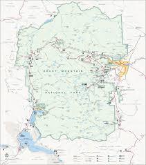 Smoky Mountain National Park Map Rocky Mountain National Park Bull Moose Travel Caffeine
