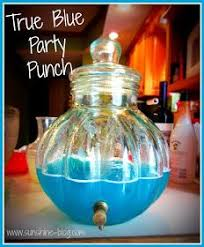 Totally Awesome Party Punch Ideas Blue Frozen Punch Recipe Blue Punch Frozen Party And Vanilla