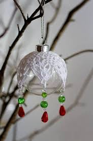 crocheted ornament cover ornaments ornament
