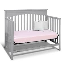 Sorelle Princeton 4 In 1 Convertible Crib With Changer by Graco Hayden 4 In 1 Convertible Crib In Pebble Gray Free Shipping