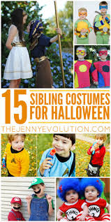 Scooby Doo Halloween Costumes For Family by 15 Sibling Halloween Costumes The Jenny Evolution