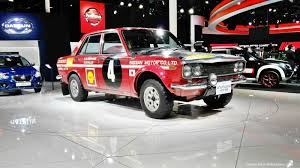 renault datsun datsun showcases exciting mix of past present u0026 future at 2016