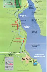 Porcupine Mountains State Park Map by Thunder Bay To Nipigon Lake Superior Circle Tour