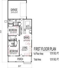 Floor Plan Two Bedroom House 26 X 40 Cape House Plans Second Units Rental Guest House