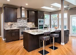 galley kitchen backsplash kitchen traditional with inset door