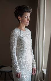 a needle and thread dress for a modern and elegant dewsall court
