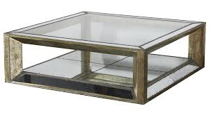 Old Coffee Table by Old Style Square Mirrored Coffee Table With Reclaimed Wooden Frame