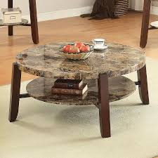 faux marble coffee table shop acme furniture lilith faux marble coffee table at lowes com