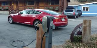 tesla model s charging tesla u0027s electric car charging sites are surging business insider