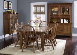 rustic dining room table with bench small space combination cool