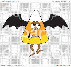 halloween transparent background royalty free rf clipart illustration of a halloween candy corn