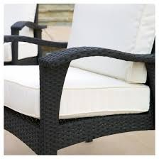 Wicker Armchair Outdoor Christopher Knight Home Honolulu Outdoor 4pc Wicker Seating Set
