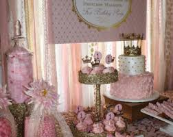 rose gold candy table peach pink gold sparkle sequin fabric backdrop with lace