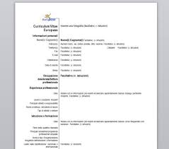 download curriculum vitae europeo pdf da compilare curriculum curriculum vitae europass download