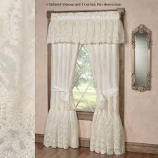 Beige And White Curtains Curtains Touch Of Class