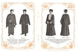 graduation gown the season of caps and gowns smithsonian libraries unbound
