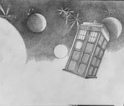 the tardis from dr who u2013 fan art
