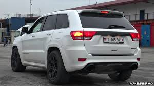 jeep grand srt8 2014 2014 jeep grand srt8 stock exhaust sound