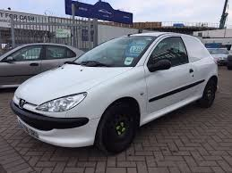 peugeot company car 2006 06 peugeot 206 1 4 hdi van ex company van well looked after