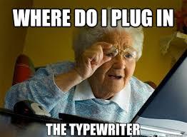 Typewriter Meme - typewriter talk typewriter meme o ries