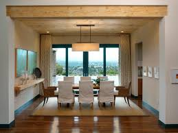 Ceiling Treatment Ideas by Dining Room Window Treatment Ideas Ceiling Light Brown Floor