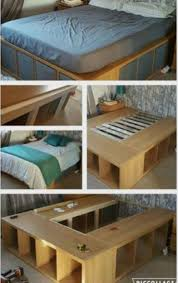 Easy Diy Platform Storage Bed by Best 25 Diy Platform Bed Ideas On Pinterest Diy Platform Bed