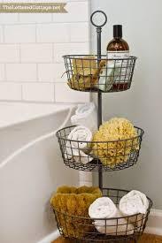 Baskets Bathroom Impressive Bathroom Basket Ideas 15 Best Baskets Images On