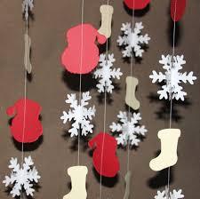 2 5 meter santa sock snowflake hanging christmas decor photo prop