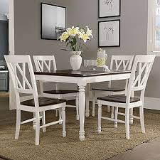 cheap 5 piece dining room sets crosley furniture shelby 5 piece dining set in white bed bath