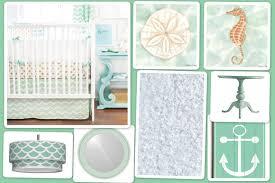 Seashell Crib Bedding Summer Inspiration Treasure Nursery