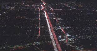 is this the worst traffic jam in the world helicopter catches