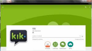 kik messenger apk installer kik for pc app for windows 7 8 10 computer kik