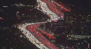 happy thanksgiving l a suffers world s worst traffic jam ahead