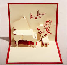 best birthday cards 130mm 160mm piano greeting cards fashion greeting cards blessing