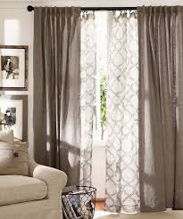 Brown And Ivory Curtains Sheer Curtain Ideas For Living Room Ultimate Home Ideas